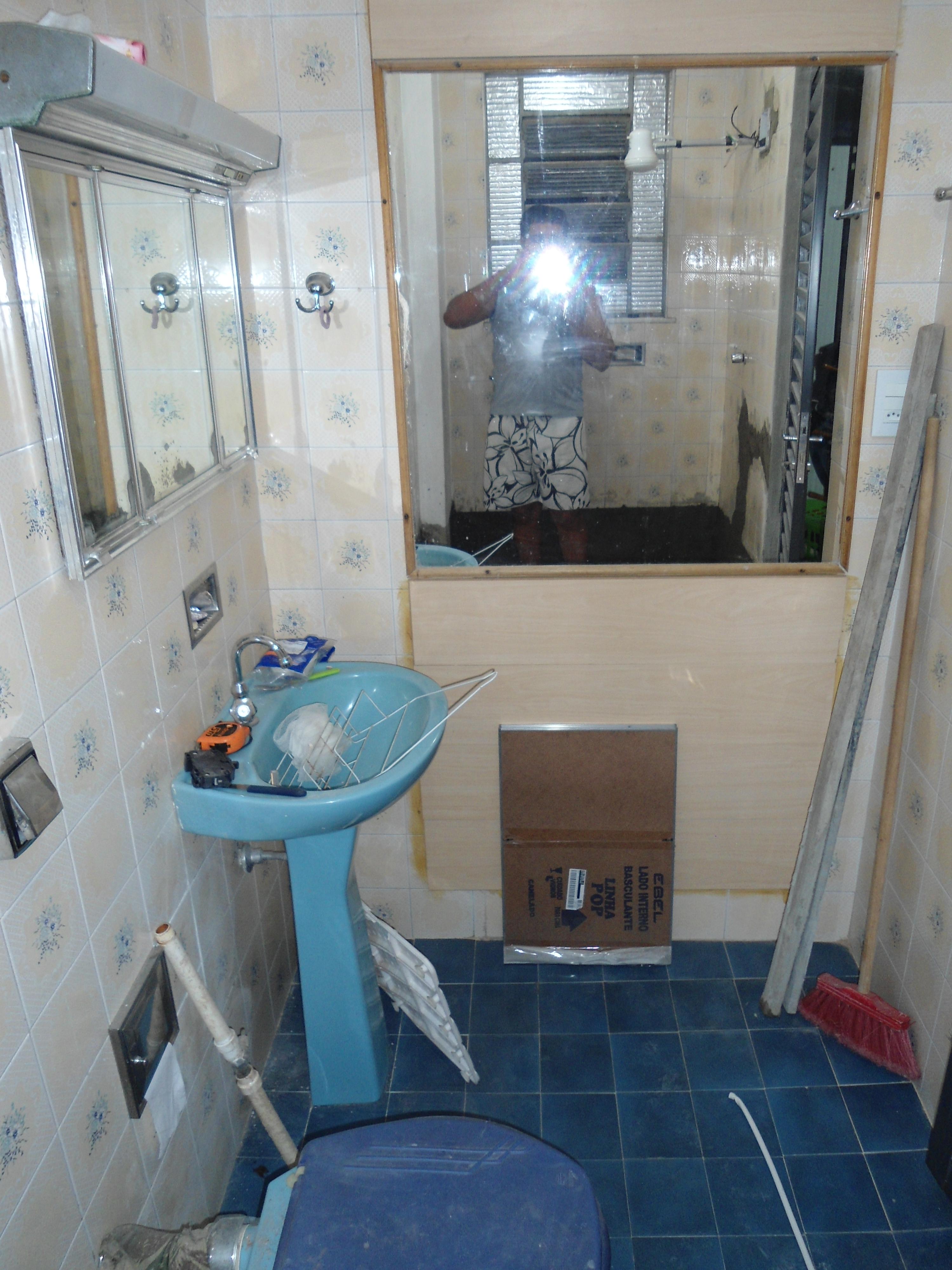 Reforma do meu banheiro da casa atual – João e Maria na casa de  #304969 3000 4000
