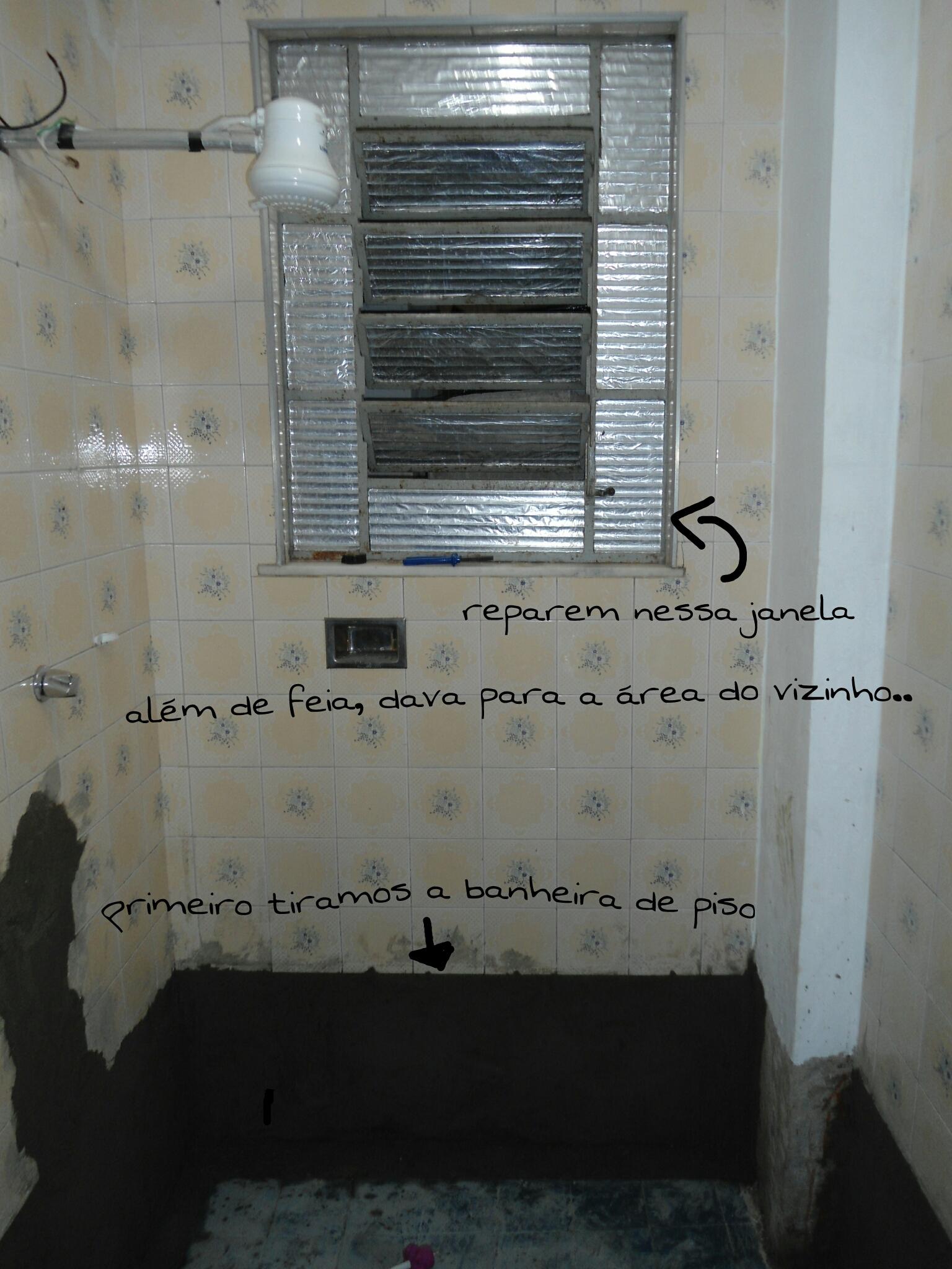 Reforma do meu banheiro da casa atual – João e Maria na casa de  #576C74 1536 2048